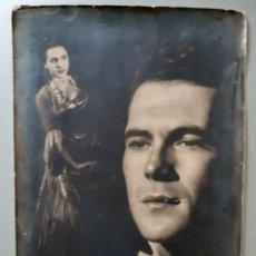 Fotografía antigua: FOTO ORIGINAL DE ARTISTAS FLAMENCOS. AÑOS 40. ROGAMOS LEER BIEN LAS CONDICIONES ANTES DE PUJAR.. Lote 275946673