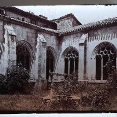 Fotografía antigua: COVARRUBIAS (BURGOS) COLEGIATA DE SAN COSME Y DAMIÁN. FINALES DE SIGLO XIX. Lote 275958543