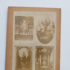 Fotografia antica: F-5132. FOTOGRAFIA EN ALBUMINA, NTRA.SRA. DE ZARAGOZA. FINALES S.XIX.. Lote 276630508