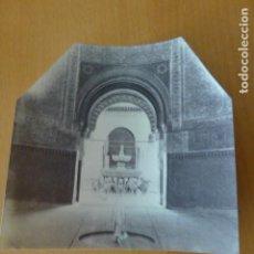 Fotografía antigua: GRANADA ALHAMBRA PATIO DE LOS LEONES ALBUMINA SIGLO XIX 12 X 12 CMTS. Lote 276681068