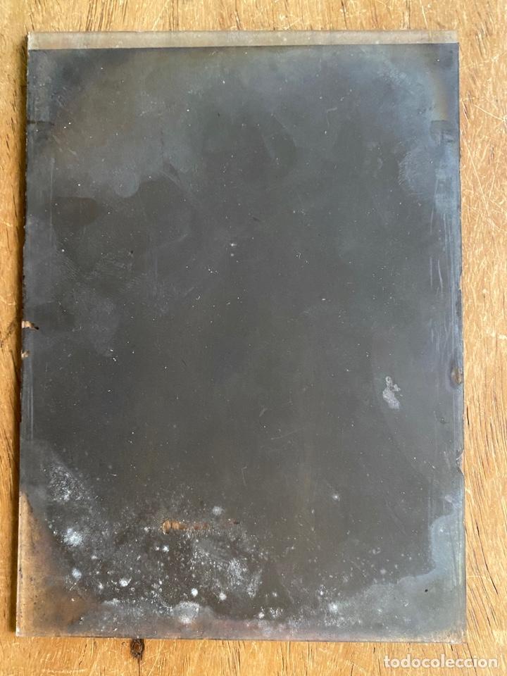 Fotografía antigua: Placa Cristal Negativo señor con traje - Foto 4 - 276918013