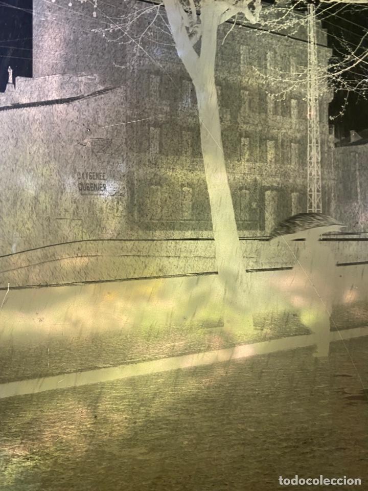 Fotografía antigua: Placa Cristal Negativo paisaje lluvia - Foto 2 - 276923153