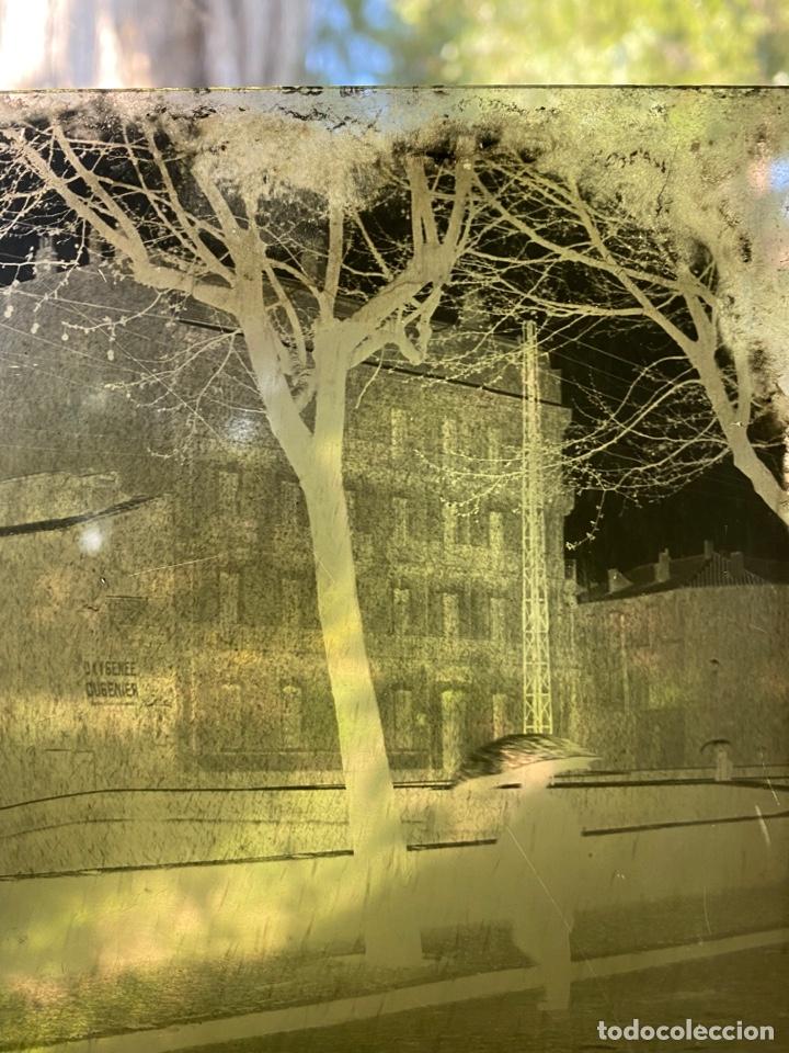 Fotografía antigua: Placa Cristal Negativo paisaje lluvia - Foto 3 - 276923153