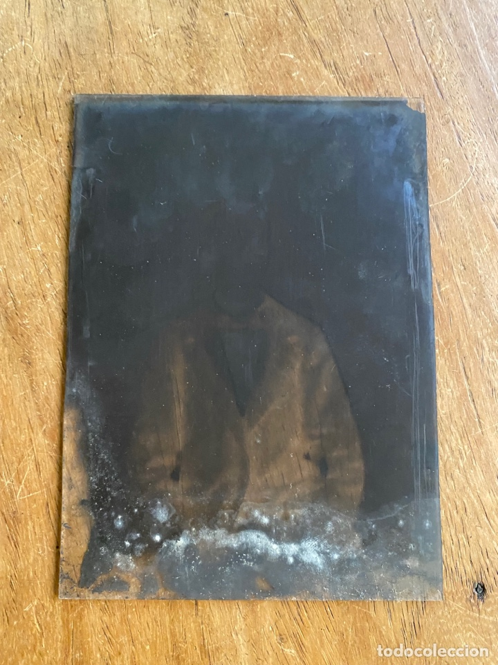 Fotografía antigua: Placa Cristal Negativo chico joven con traje - Foto 3 - 276923703