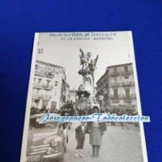 Fotografía antigua: FALLA CONVENTO JERUSALÉN MATEMÁTICO MARZAL AÑO 1961 PRIMER PREMIO SECCIÓN ESPECIAL. Lote 277054018
