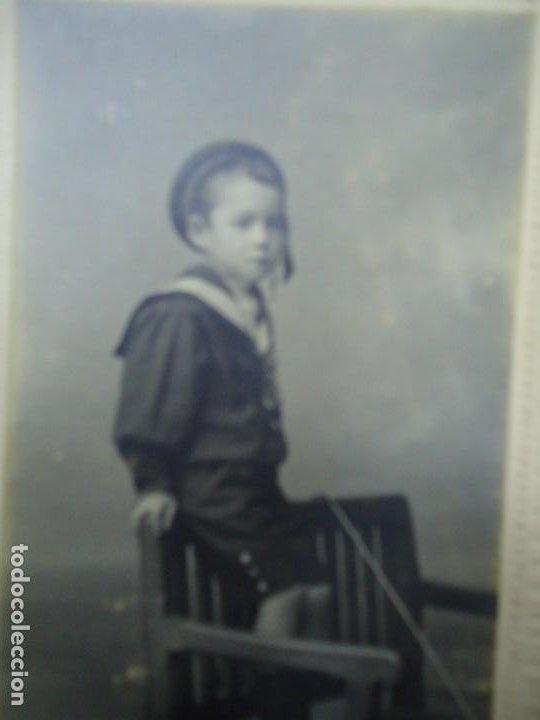 Fotografía antigua: 1890 FIRMADA EN LA TRASERA CON EL SELLO DE J. SELLIER EN CORUÑA CON EL Nº 3245 ES ORIGINAL Y BIEN C - Foto 2 - 277059623