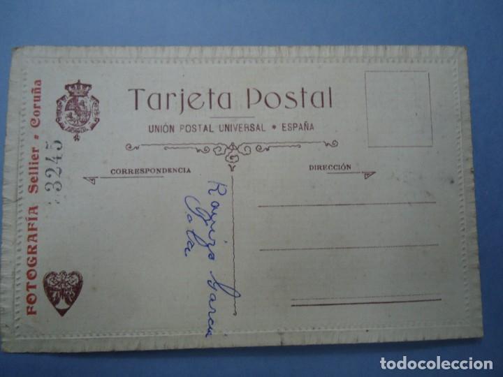 Fotografía antigua: 1890 FIRMADA EN LA TRASERA CON EL SELLO DE J. SELLIER EN CORUÑA CON EL Nº 3245 ES ORIGINAL Y BIEN C - Foto 4 - 277059623