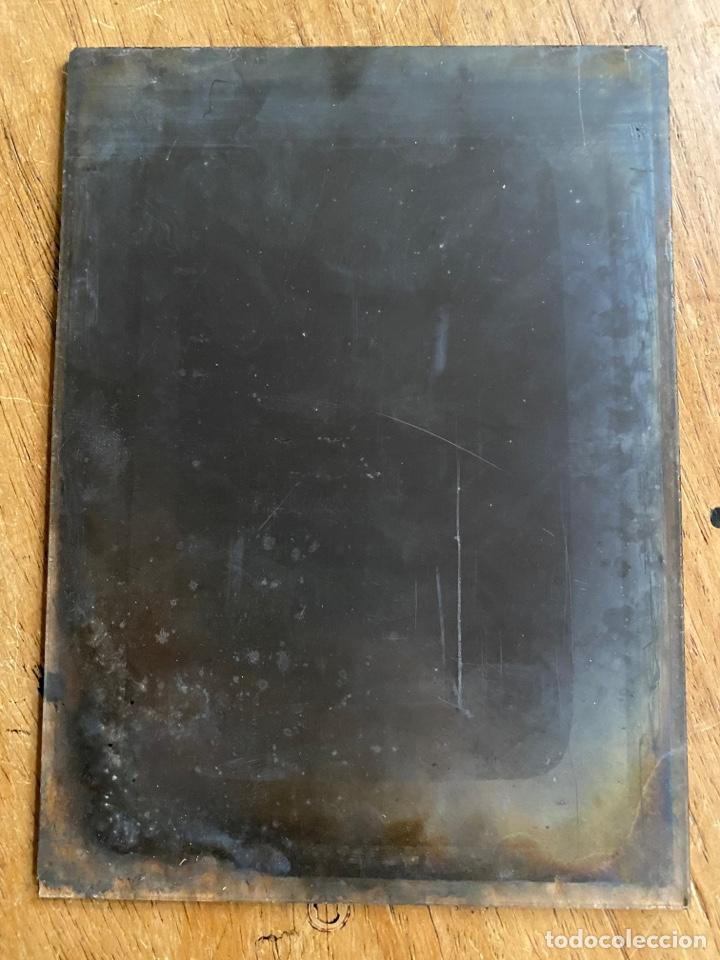 Fotografía antigua: Placa Cristal Negativo retrato señor con traje/ oficial - Foto 4 - 277440908