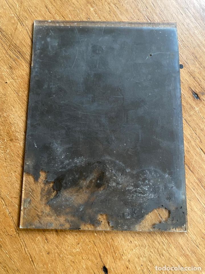 Fotografía antigua: Placa Cristal Negativo señor con traje - Foto 3 - 277441743