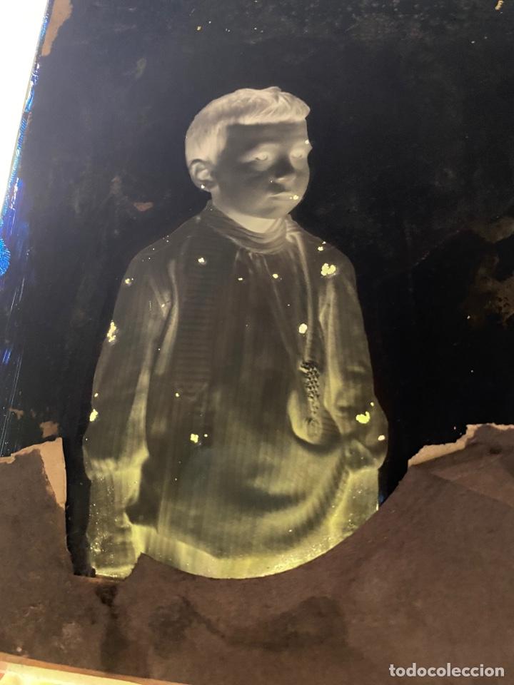 Fotografía antigua: Placa Cristal Negativo niño - Foto 2 - 277442253