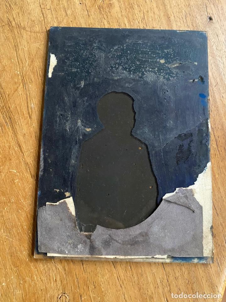 Fotografía antigua: Placa Cristal Negativo niño - Foto 3 - 277442253