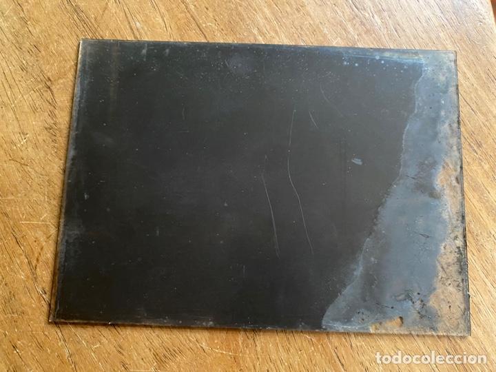 Fotografía antigua: Placa Cristal Negativo paisaje pueblo - Foto 3 - 277442528