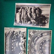 Fotografía antigua: ARXIU MAS 3 FOTOGRAFIAS CATEDRAL DE BURGOS.. FOTOS DE 1918.. Lote 278883363