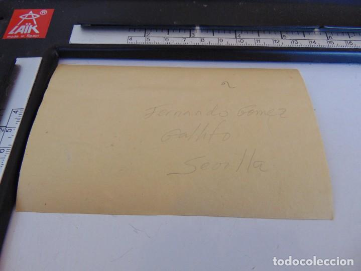 Fotografía antigua: FOTO ALBUMINA PLAZA TOROS LA MAESTRANZA DE SEVILLA FINALES DE SIGLO XIX, TORERO GALLITO - Foto 3 - 279988278