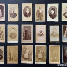 Old photograph: LOTE 34 FOTOGRAFÍAS SIGLO XIX FOTOGRAFOS ESPAÑOLES, J. LAURENT, J. GUTIERREZ, PARTAGAS Y COSTA .... Lote 280642473