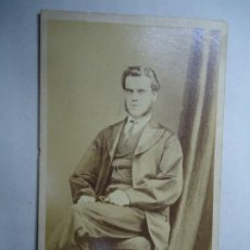 Fotografía antigua: FOTOGRAFIA DE 1890 PHOTOGRAPHER W. J. SIMPSON ISLINGTON MIDE 10,5 X 6,5 CM.. Lote 282191688