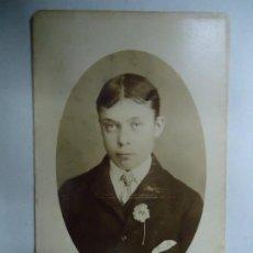 Fotografía antigua: FOTOGRAFIA DE 1890 PHOTOGRAPHER H. MORRIS NEW WANDSWORTH 1890 MIDE 10,5 X 6,5 CM.. Lote 282192728