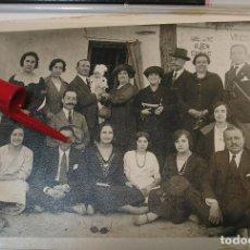Fotografía antigua: ANTIGUA FOTO FOTOGRAFIA ALBUMINA SOCIEDAD ESPAÑOLA CLASE MEDIA AÑOS 20 (21-10). Lote 286378443