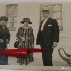 Fotografía antigua: ANTIGUA FOTO FOTOGRAFIA ALBUMINA SOCIEDAD ESPAÑOLA CLASE MEDIA AÑOS 20 (21-10). Lote 286378573