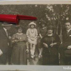Fotografía antigua: ANTIGUA FOTO FOTOGRAFIA ALBUMINA SOCIEDAD ESPAÑOLA CLASE MEDIA AÑOS 20 (21-10). Lote 286378758