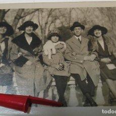 Fotografía antigua: ANTIGUA FOTO FOTOGRAFIA ALBUMINA SOCIEDAD ESPAÑOLA CLASE MEDIA AÑOS 20 (21-10). Lote 286378833