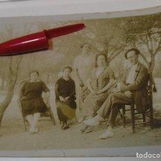 Fotografía antigua: ANTIGUA FOTO FOTOGRAFIA ALBUMINA SOCIEDAD ESPAÑOLA CLASE MEDIA AÑOS 20 (21-10). Lote 286378943