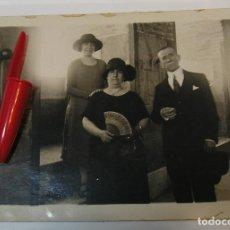 Fotografía antigua: ANTIGUA FOTO FOTOGRAFIA ALBUMINA SOCIEDAD ESPAÑOLA CLASE MEDIA AÑOS 20 (21-10). Lote 286379018