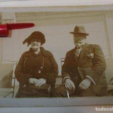 Fotografía antigua: ANTIGUA FOTO FOTOGRAFIA ALBUMINA SOCIEDAD ESPAÑOLA CLASE MEDIA AÑOS 20 (21-10). Lote 286379203