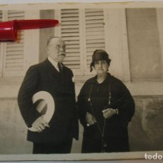 Fotografía antigua: ANTIGUA FOTO FOTOGRAFIA ALBUMINA SOCIEDAD ESPAÑOLA CLASE MEDIA AÑOS 20 (21-10). Lote 286379328