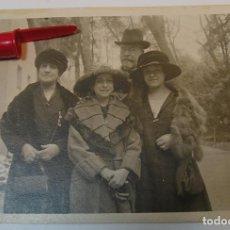 Fotografía antigua: ANTIGUA FOTO FOTOGRAFIA ALBUMINA SOCIEDAD ESPAÑOLA CLASE MEDIA AÑOS 20 (21-10). Lote 286379468