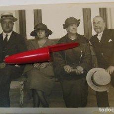 Fotografía antigua: ANTIGUA FOTO FOTOGRAFIA ALBUMINA SOCIEDAD ESPAÑOLA CLASE MEDIA AÑOS 20 (21-10). Lote 286379528