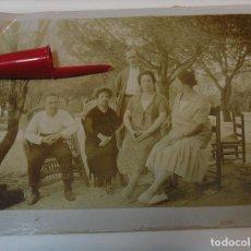 Fotografía antigua: ANTIGUA FOTO FOTOGRAFIA ALBUMINA SOCIEDAD ESPAÑOLA CLASE MEDIA AÑOS 20 (21-10). Lote 286379593
