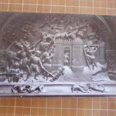 Fotografía antigua: GRANADA DETALLE DE LA SILLERIA DEL CORO DE LA CATEDRAL ALBUMINA SIGLO XIX 14 X 21 CMTS. Lote 288396168