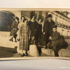 Fotografía antigua: ALBUMINA FOTOGRAFIA ANTIGUA.. EN MADRID .. DISFRUTANDO DE LA VIDA.. (H.1910?). Lote 288403753
