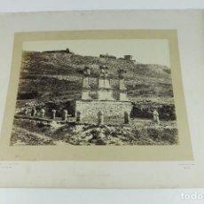 Fotografía antigua: SOLAR DEL CID, AÑO 1865 - BURGOS - FOTO: J. LAURENT, MADRID.. Lote 289200303