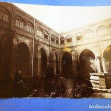Fotografía antigua: CARRIÓN DE LOS CONDES CLAUSTRO DE SAN ZOILO ANTIGUA ALBÚMINA SIGLO XIX 16,5 X 13,5 CTMS. Lote 289596353