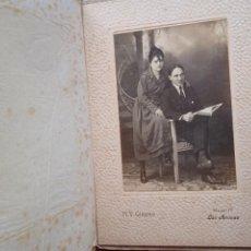 Photographie ancienne: GIMENO FOTÓGRAFO. LAS ARENAS, VIZCAYA. SOPORTE DE CARTÓN. JUAN OTEIZA. ERANDIO 1918. Lote 293222343