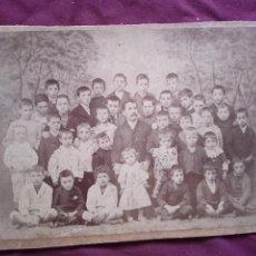 Photographie ancienne: COLEGIO DEL ANGEL DE LA GUARDA, BILBAO. Lote 293223543