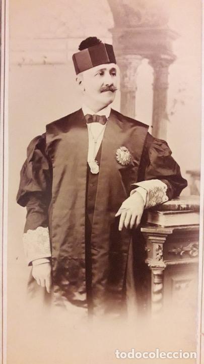 Fotografía antigua: Retrato abogado. García Ayola -Granada - Foto 4 - 293309948