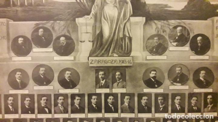 Fotografía antigua: Fotografía Orla Facultad de Derecho -Zaragoza 1913 - 14 - Foto 2 - 293310283