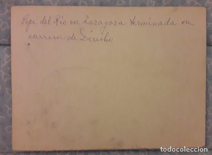 Fotografía antigua: Fotografía Orla Facultad de Derecho -Zaragoza 1913 - 14 - Foto 3 - 293310283