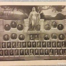 Fotografía antigua: FOTOGRAFÍA ORLA FACULTAD DE DERECHO -ZARAGOZA 1913 - 14. Lote 293310283