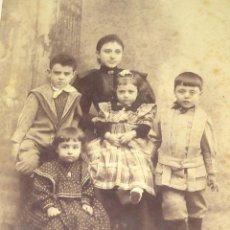 Fotografia antiga: FOTOTOGRAFIA ALBUMINA -- S. F. SOLER (ALICANTE) AÑO 1880. Lote 296021018
