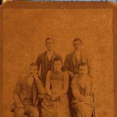 Fotografia antiga: FOTOGRAFIA SIGLO XIX DE FAMILIA, FOTOGRAFO E. ONIS VITORIA. Lote 296593983