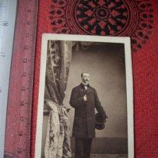 Fotografía antigua - CDV DE MILITAR, DE ALONSO MARTINEZ Y HERMANO, MADRID - 18305036