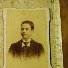 Fotografía antigua: ANTIGUA CDV DE J. TORRES, GRANADA. Lote 12238242