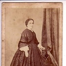 Fotografía antigua: RETRATO DE DAMA, FOT: MOLINÉ Y ALBAREDA, BARCELONA. Lote 12250777