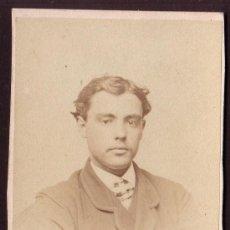 Fotografía antigua: ENTRE 1860 - 1866 * CDV DE UN PIONERO DE LA FOTOGRAFIA MUNDIAL * BAYARD Y BERTALL . Lote 24212976