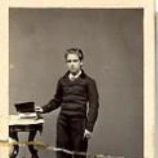 Fotografía antigua: FOTOGRAFÍA ANTIGUA. CARTE DE VISITE. ALBUMINA. JULIO H. NORMAND. MATANZAS. Lote 27268396