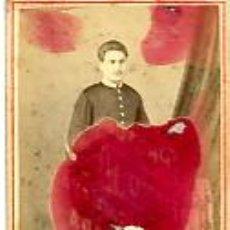Fotografía antigua: FOTOGRAFÍA ANTIGUA. CARTE DE VISITE. ALBUMINA. R. P. M. BASTOS. LISBOA. Lote 48682555